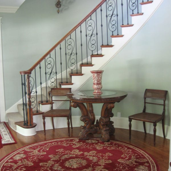 Iron-staircase