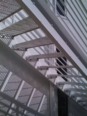 Staircase-from-underneath