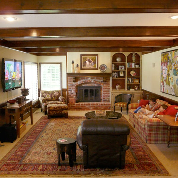Traditional-basement